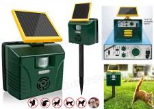 Ultrahangos, napelemes Multi Frekvenciás kisállat riasztó Mlogic MB040 Solar Pro