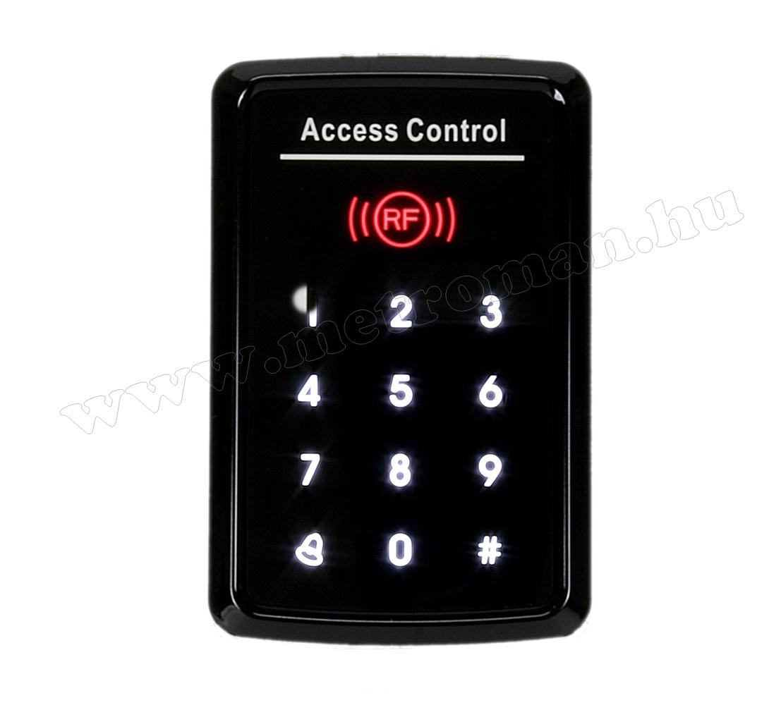 Érintőgombos kód és kártyás beléptető RFID-M221