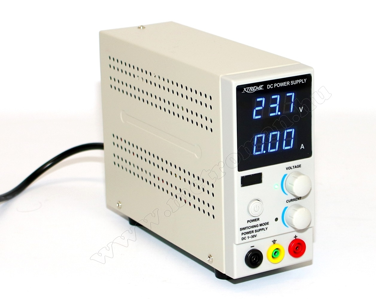 Univerzális szabályozható Labor tápegység 0-30 Volt 0-10 Amper ZL3010