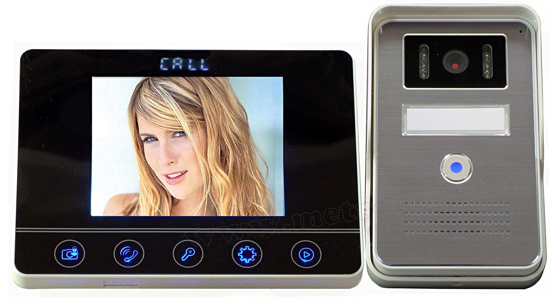 Színes Videó kaputelefon MTK-434