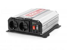 Feszültségátalakító, Szinusz inverter 12/230V 600 Watt, V1200 Sinus