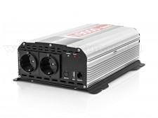 Feszültségátalakító, Szinusz inverter 12/230V 1500 Watt, V3000 Sinus