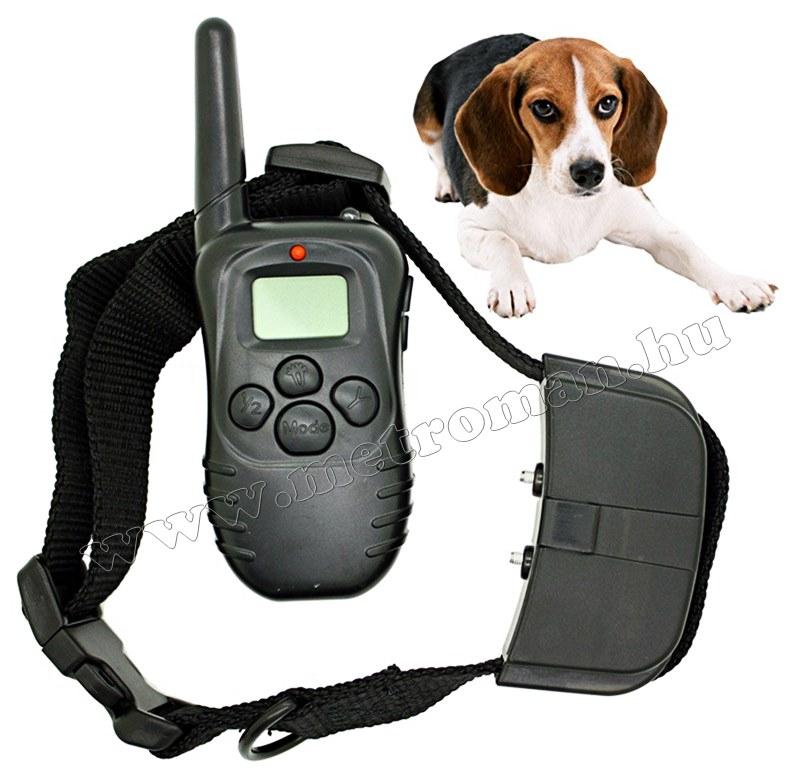 Távirányítós elektromos kutya nyakörv 998D
