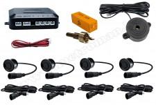 Tolatóradar Extra szenzorral, hangjelzéssel M-Tech CP6B