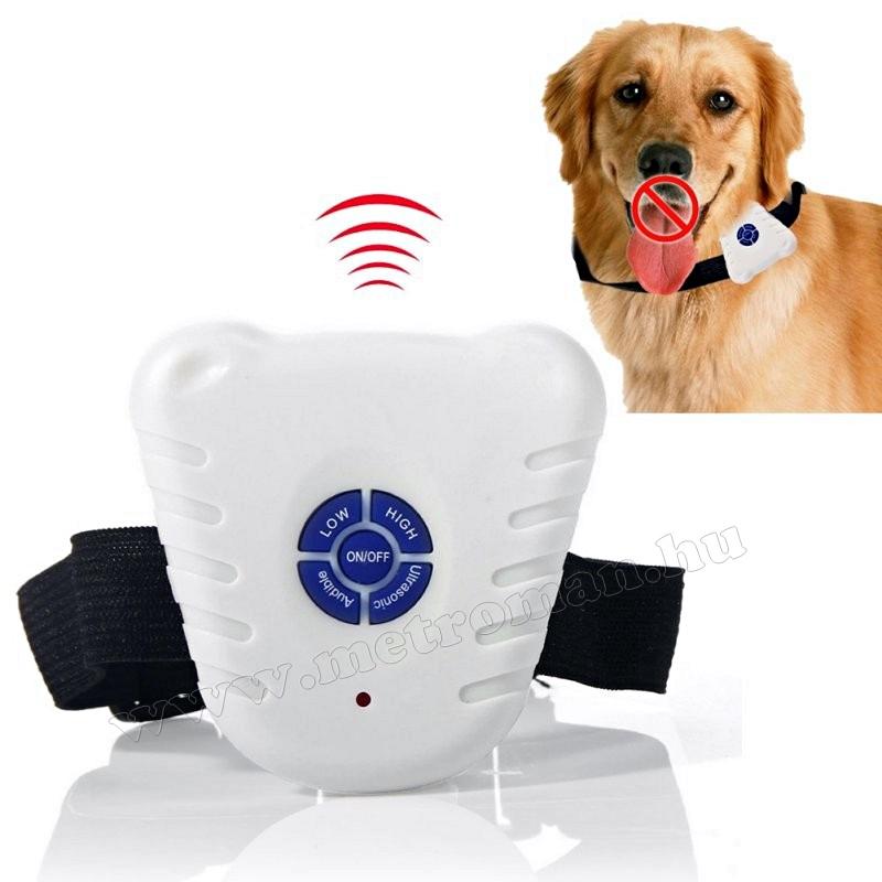 Ultrahangos, kutya ugatásgátló nyakörv MG13