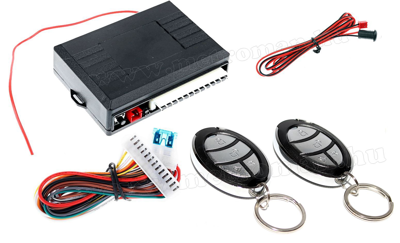 Központizár vezérlő távirányító szett, Mlogic MM-T286