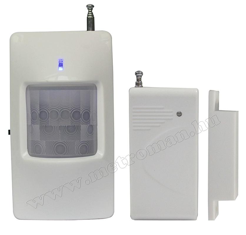 Vezeték nélküli GSM riasztó szett LYD-114 GSM