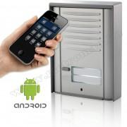 Vezeték nélküli GSM kaputelefon 1 nyomógombos, AS1-GSM