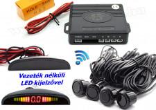 Vezeték nélküli tolatóradar LED kijelzővel Carguard MM003-W