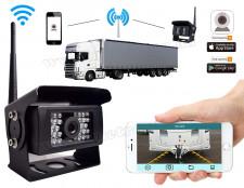 Vezeték nélküli Wifi Tolató és megfigyelő kamera Android iPhone telefonokhoz MM1104-WIFI