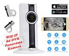 Vezeték nélküli Wifi HD IP Panoráma Okos kamera ANH360-HD