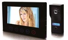 Színes Videó kaputelefon SD kártyás képrögzítővel D7Q4F