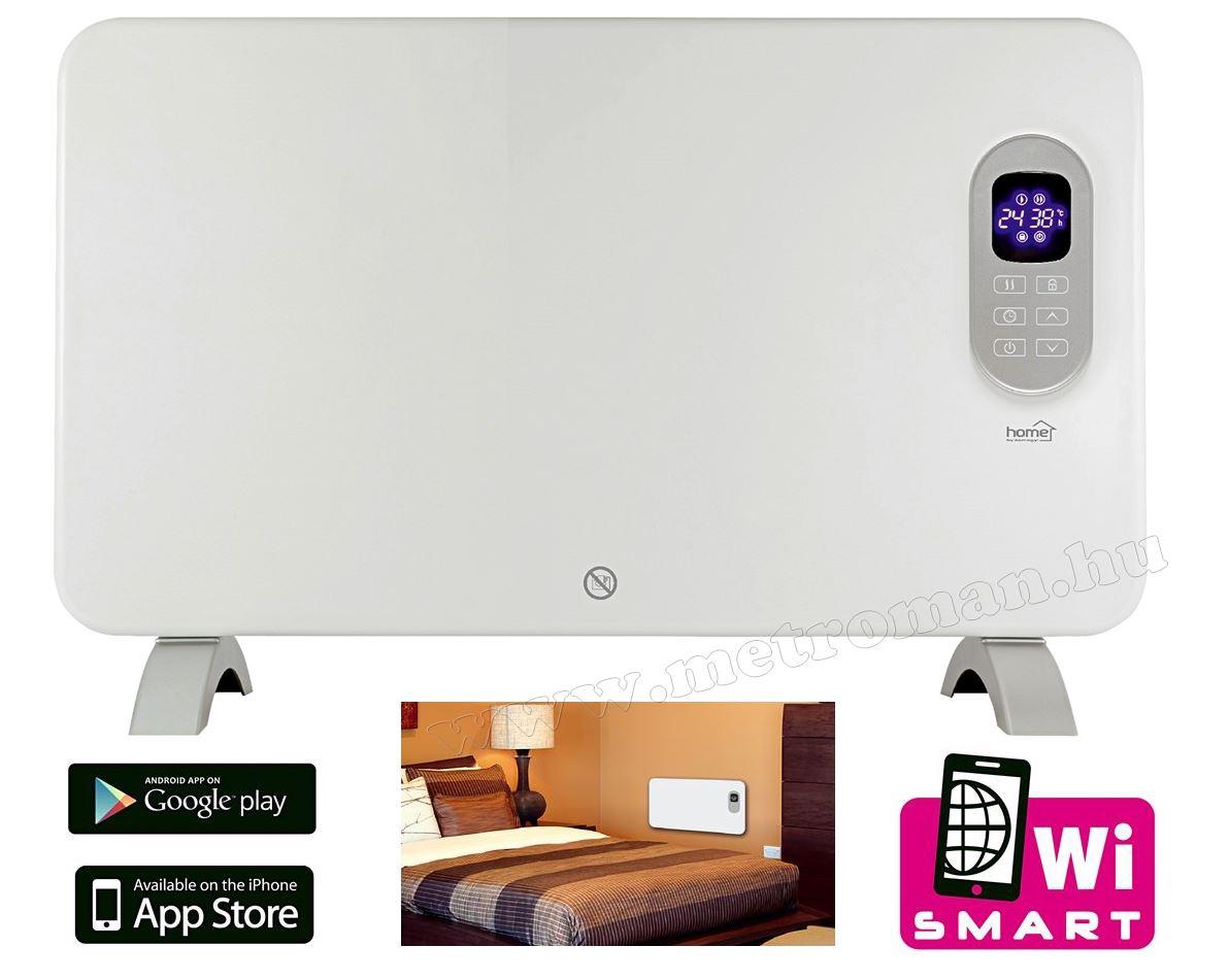 Android iPhone Okos telefonról kapcsolható elektromos fűtőtest FK 410 Smart WIFI