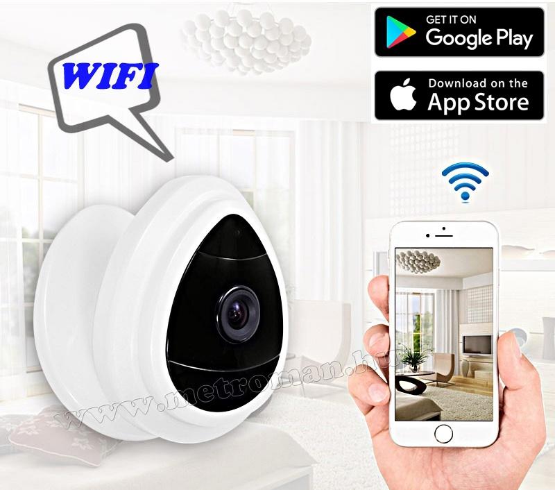 Vezeték nélküli Wifi IP, Android, iPhone megfigyelő kamera  MH-962 HD