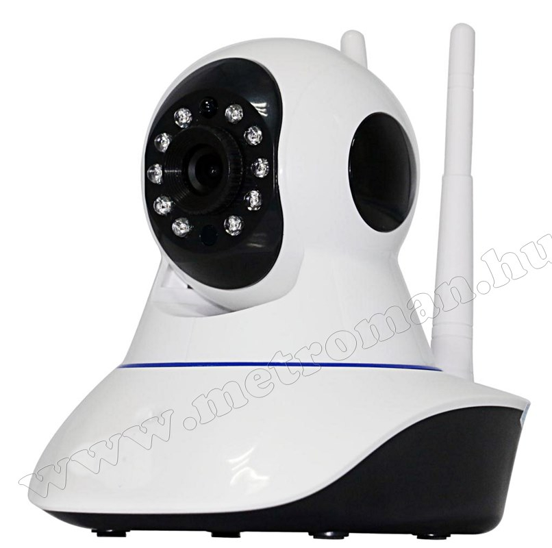 Vezeték nélküli Wifi IP, Android, forgatható SD DVR megfigyelő kamera  M0774